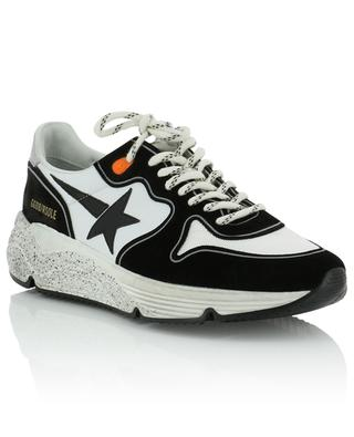 Running Sole suede, leather and mesh sneakers GOLDEN GOOSE