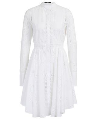 Flared broderie anglaise shirt dress SLY 010