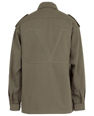 VLOGO gabardine lighweight jacket VALENTINO