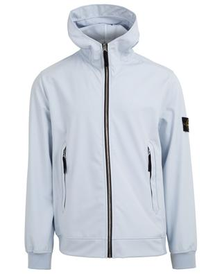 Light Soft Shell-R Windbreaker jacket with hood STONE ISLAND