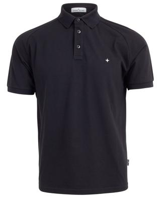 Wind Rose slim fit cotton stretch polo shirt STONE ISLAND