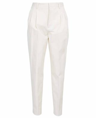 Tapered leg cotton trousers RED VALENTINO