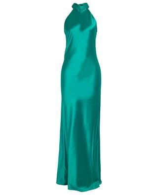 Sienna long satin dress GALVAN LONDON