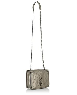 Niki quilted metallic leather chain wallet SAINT LAURENT PARIS