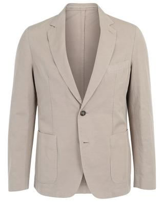 375 Single-breasted cotton and linen blazer OFFICINE GENERALE