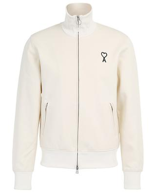 Ami de Coeur sweat jacket with stand-up collar AMI