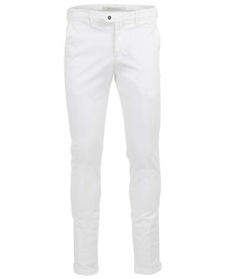 Cotton blend chino trousers B SETTECENTO