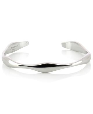 Irregular silver bangle AVINAS