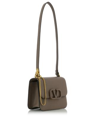 VSLING Small grainy leather shoulder bag VALENTINO