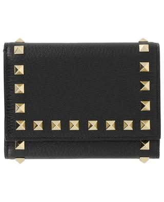 Rockstud calfskin leather wallet VALENTINO