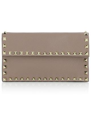 Rockstud leather wallet on a chain VALENTINO