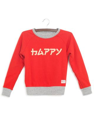 Wendbares Sweatshirt Super Happy AO76