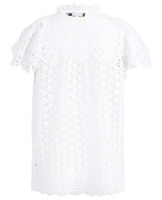 Top manches courtes en broderies anglaises POLO RALPH LAUREN