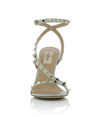Rockstud heeled calf leather sandals VALENTINO