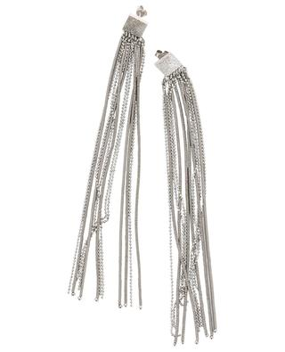 Steel, hematite and silver earrings BRUNELLO CUCINELLI