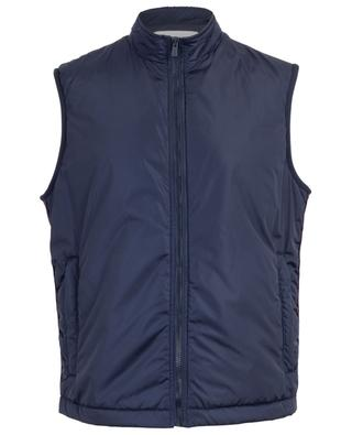 Bally Panelling Thindown zippered nylon gilet BALLY