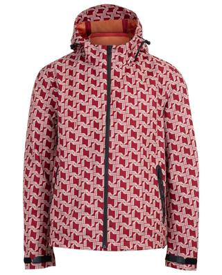 Bally Wings lightweight printed hooded jacket BALLY