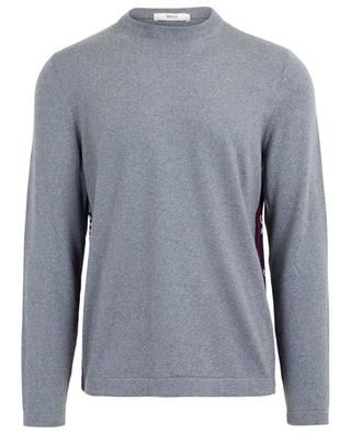 Bally Panelling thin merino wool jumper BALLY
