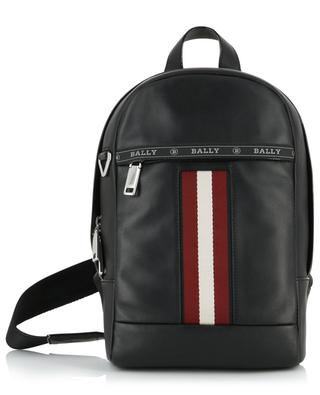 Hari stripe detail leather cross body messenger bag BALLY