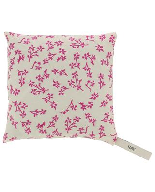 Scent lavender scented silk cushion HAY