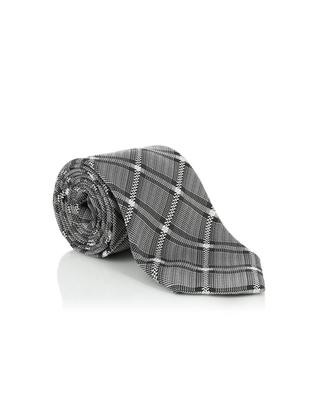 Checked silk tie TOM FORD