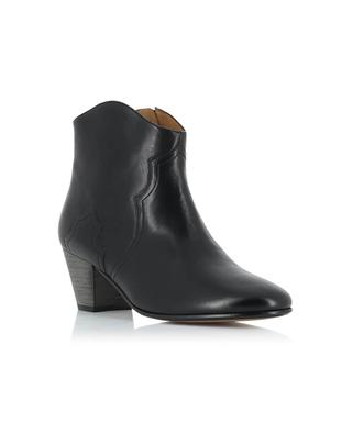 Dicker leather ankle boots ISABEL MARANT