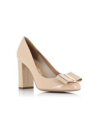 Pumps aus Lackleder Elinda SALVATORE FERRAGAMO
