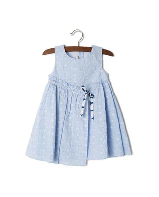 Embroidered cotton dress PER TE