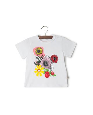 Floral printed cotton T-shirt STELLA MCCARTNEY
