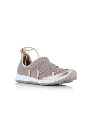 Andrea mesh and leather sneakers JIMMY CHOO