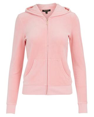 Robertson cotton blend sweatshirt with glitter JUICY COUTURE