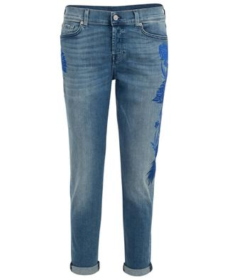 Boyfriend Jeans mit Stickerei Josefina 7 FOR ALL MANKIND