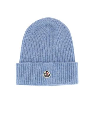 Wool and alpaca wool blend beanie MONCLER
