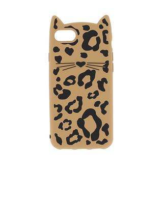 Coque pour iPhone 7 Cheetah Cat KATE SPADE