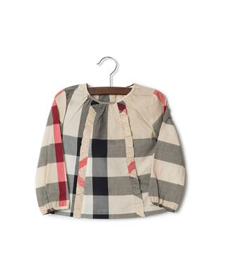 Bluse aus Baumwolle House Check BURBERRY