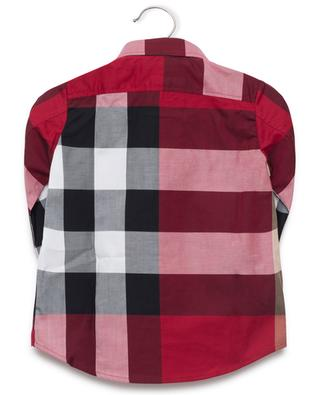 Mini Camber cotton shirt BURBERRY