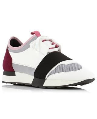 Race Runners leather and fabric sneakers BALENCIAGA