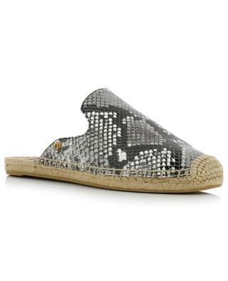 Max open leather espadrilles TORY BURCH