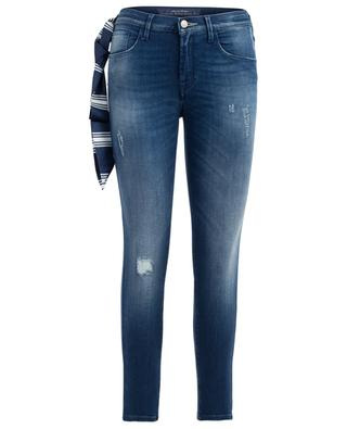 Used-Look Slim-Fit Jeans Kimberly Crop JACOB COHEN