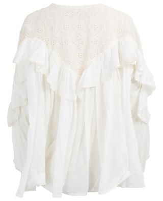 Ohara embroidered cotton blouse MES DEMOISELLES