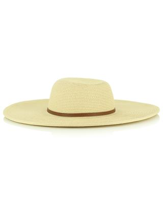 Paper and cotton floppy hat MELISSA ODABASH