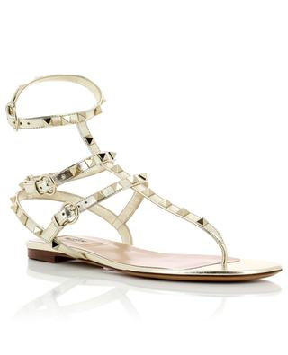 Rockstud leather sandals VALENTINO
