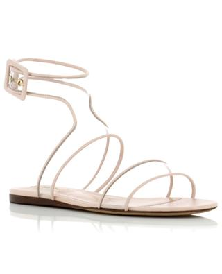 Dollybow leather and PVC sandals VALENTINO