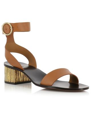 Leather sandals CHLOE