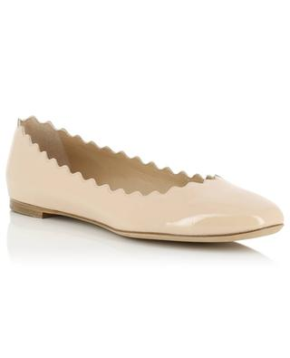 Lauren patent leather ballet flats CHLOE
