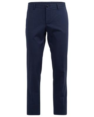 Cotton blend slim fitted trousers ETRO