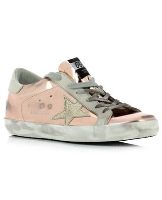 Baskets en cuir verni Superstar GOLDEN GOOSE