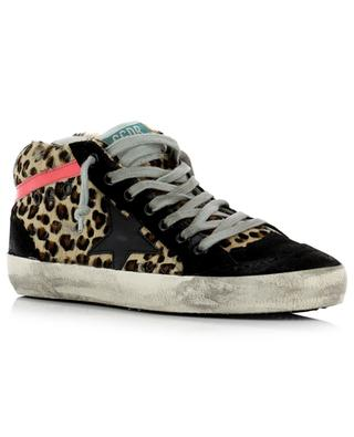 Baskets en cuir Mid Star GOLDEN GOOSE