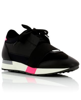 Sneakers aus Leder und Stoff Race Runners BALENCIAGA