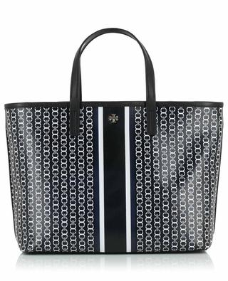 Gemini Link Small coated canvas tote bag TORY BURCH